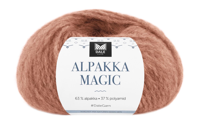 Alpakka Magic - Kobber