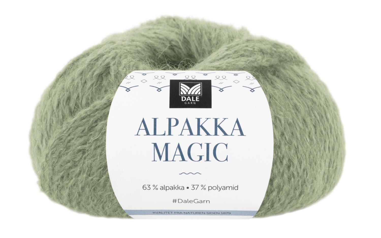 Alpakka Magic - Jadegrønn