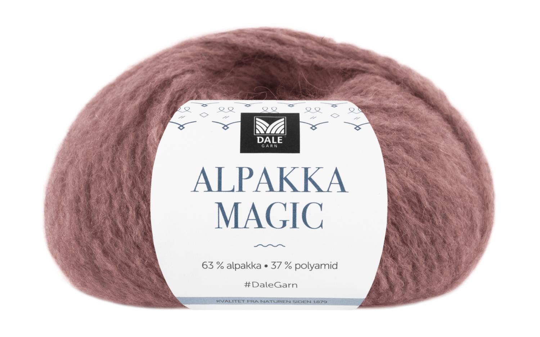 Alpakka Magic - Gammelrosa