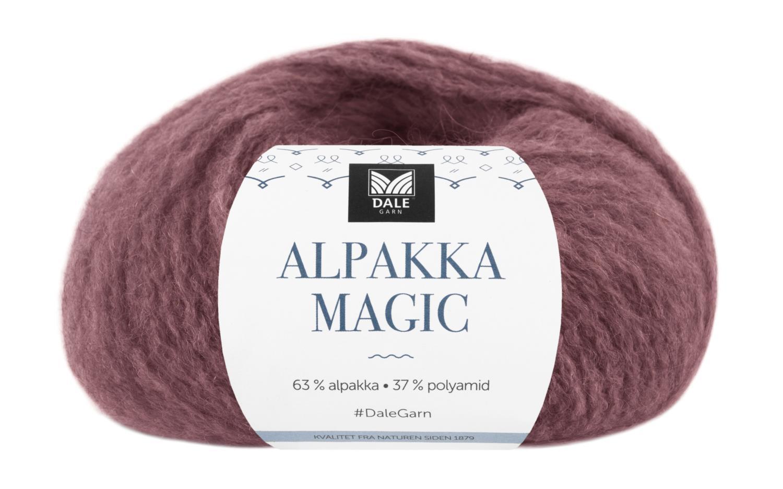 Alpakka Magic - Peon rød