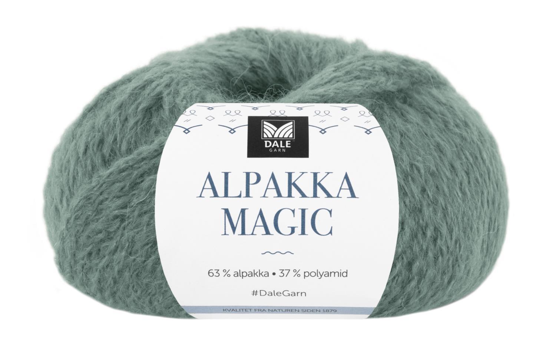 Alpakka Magic - Thuja grønn