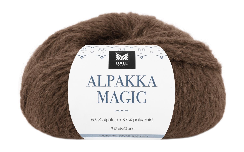 Alpakka Magic - Varmbrun