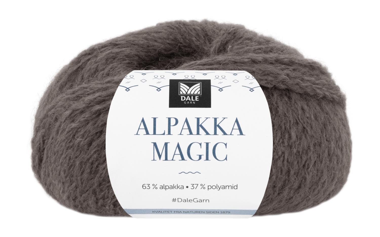 Alpakka Magic - Gråbrun