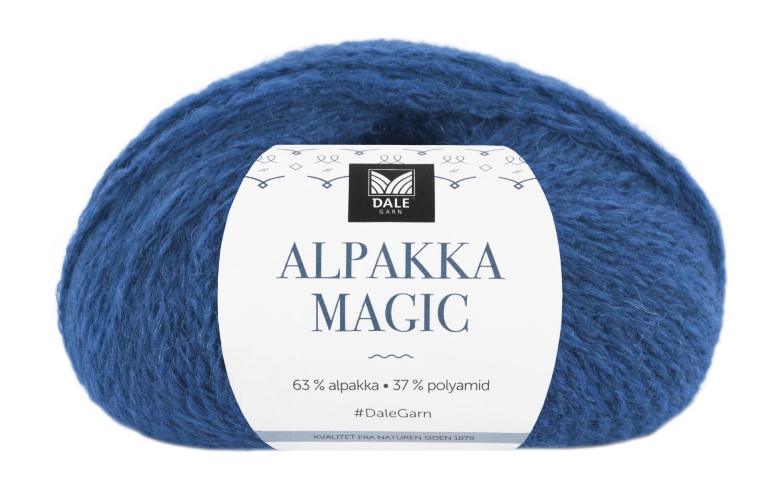 Alpakka Magic - Klarblå