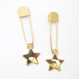Maskemarkør gull/stjerne 103 - 2 stk