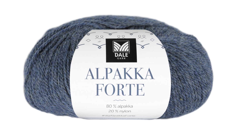 Alpakka Forte - Denim melert