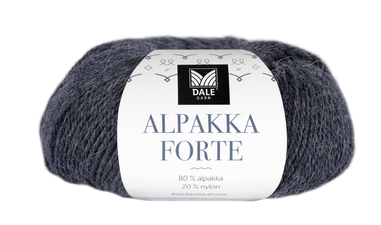 Alpakka Forte - Indigo melert