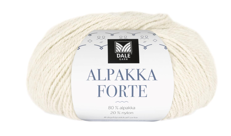 Alpakka Forte - Natur