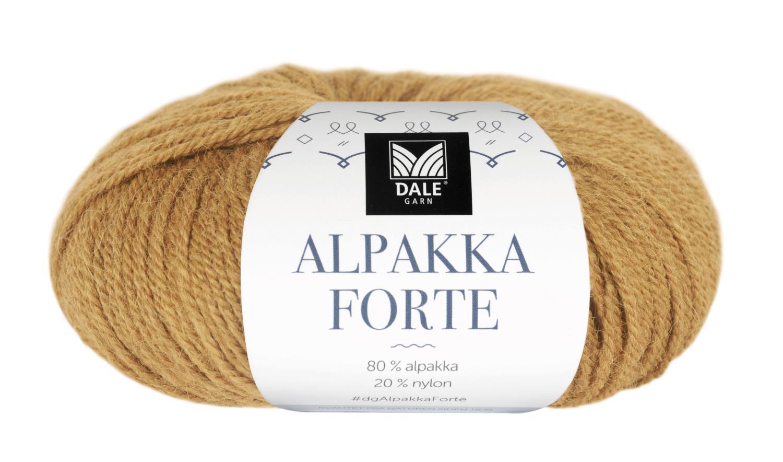 Alpakka Forte - Maisgul melert