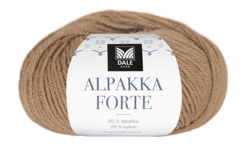 Alpakka Forte - Kamel