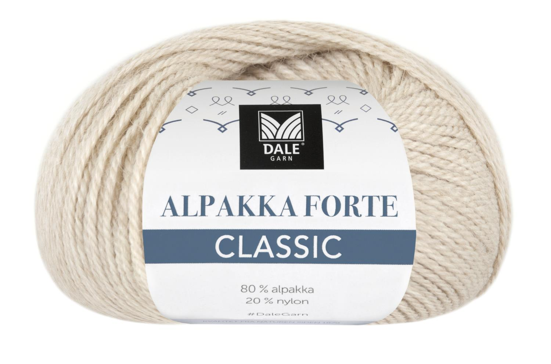 Alpakka Forte Classic - Beige melert