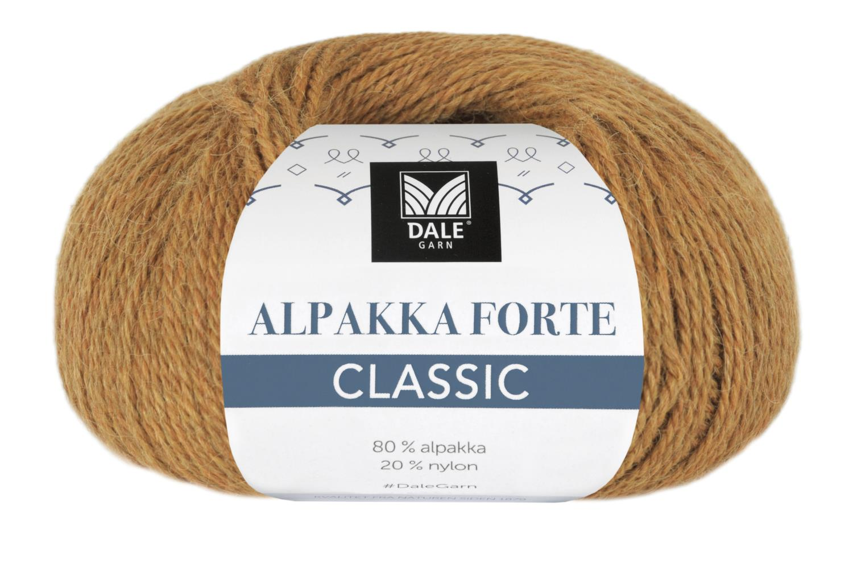 Alpakka Forte Classic - Currygul