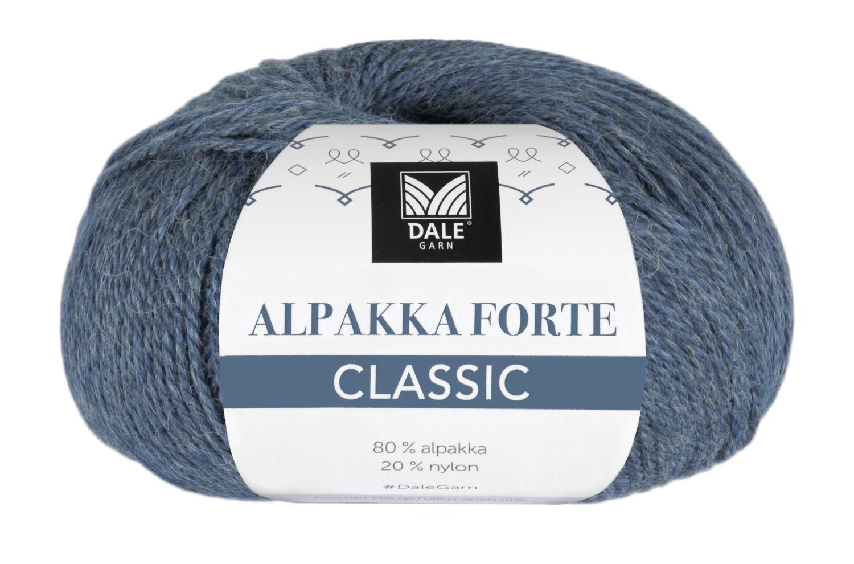 Alpakka Forte Classic - Denim melert