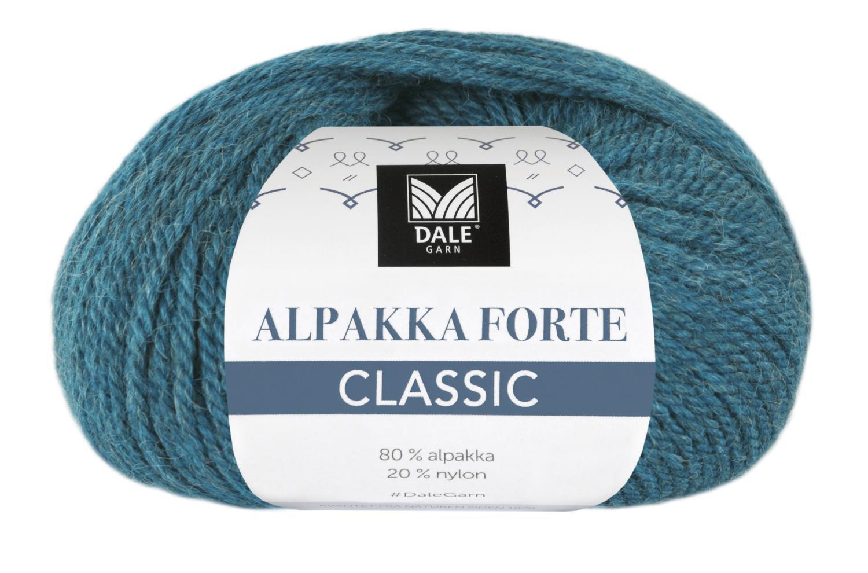 Alpakka Forte Classic - Dyp sjøgrønn