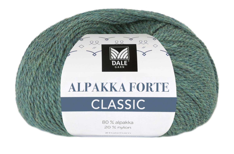 Alpakka Forte Classic - Grangrønn
