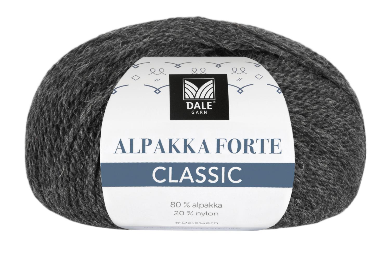 Alpakka Forte Classic - Koks melert