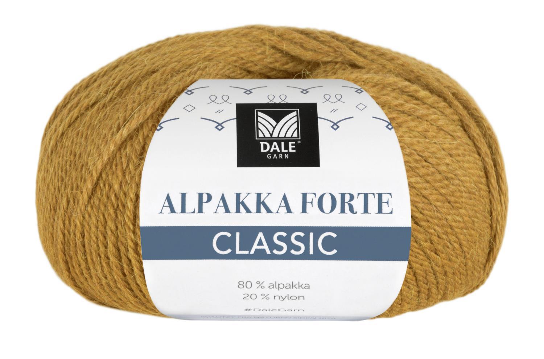 Alpakka Forte Classic - Maisgul melert