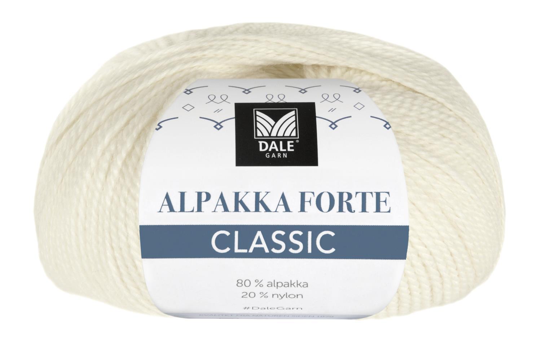 Alpakka Forte Classic - Natur