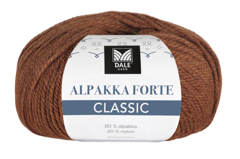 Alpakka Forte Classic - Rust melert