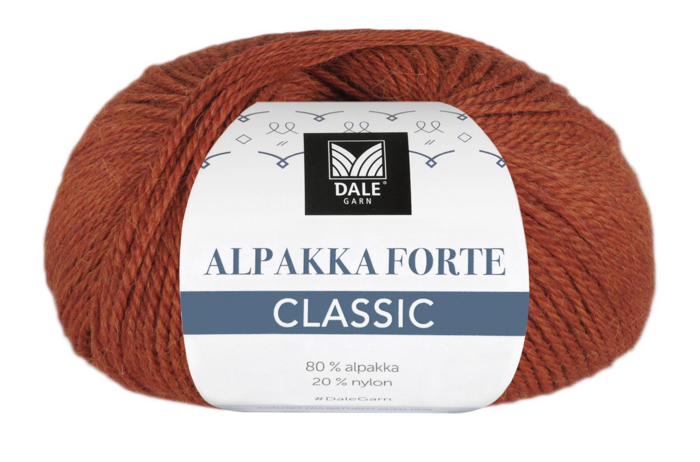 Alpakka Forte Classic - Terracotta melert
