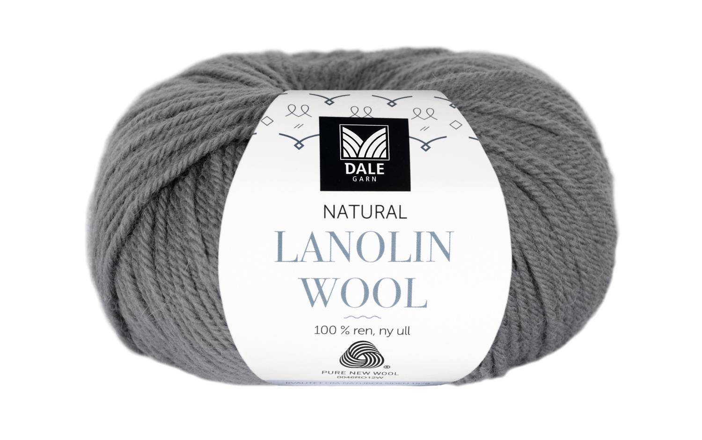 Lanolin Wool - Mørk grå