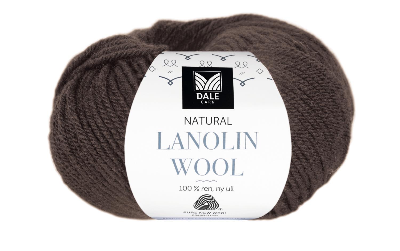 Lanolin Wool - Espresso