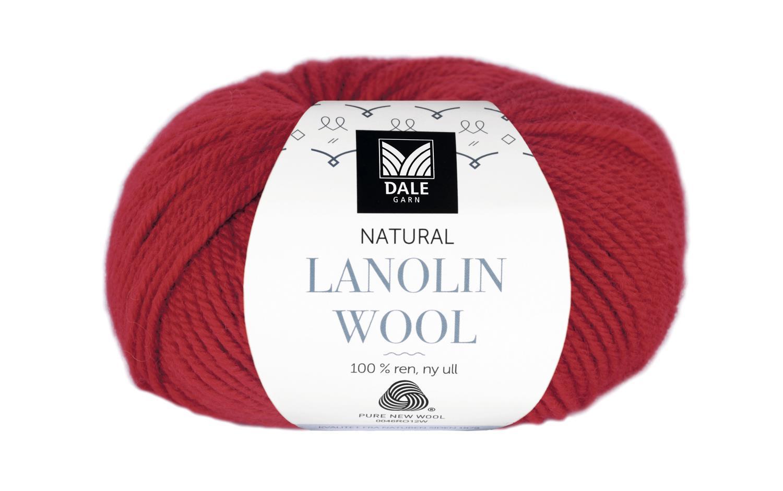 Lanolin Wool - Klar rød