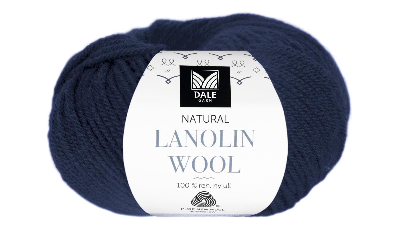 Lanolin Wool - Marineblå
