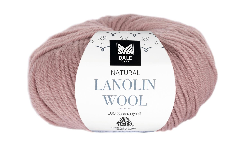 Lanolin Wool - Dus grårosa