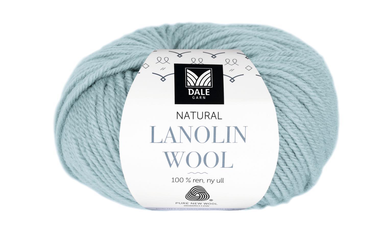 Lanolin Wool - Dus sjøgrønn