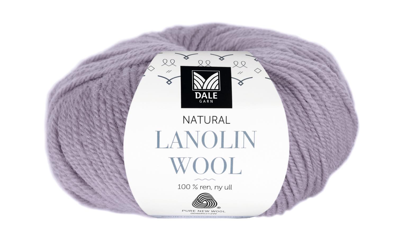 Lanolin Wool - Grå lavendel
