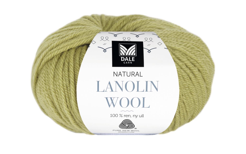 Lanolin Wool - Vårgrønn