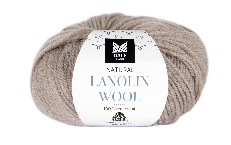 Lanolin Wool - Beige melert