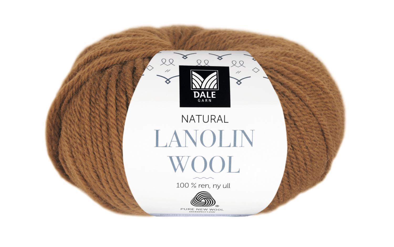 Lanolin Wool - Mørk oker