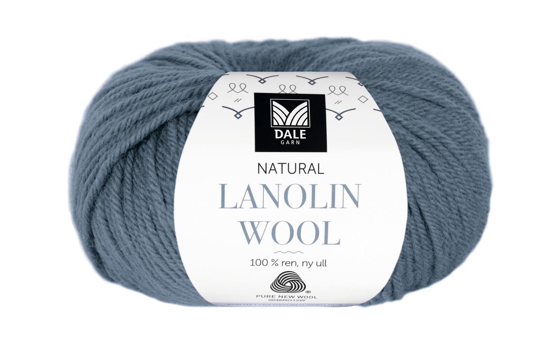 Lanolin Wool - Mørk denim