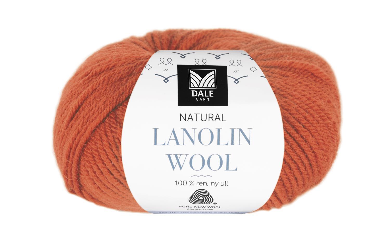Lanolin Wool - Oransje