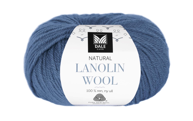 Lanolin Wool - Jeansblå