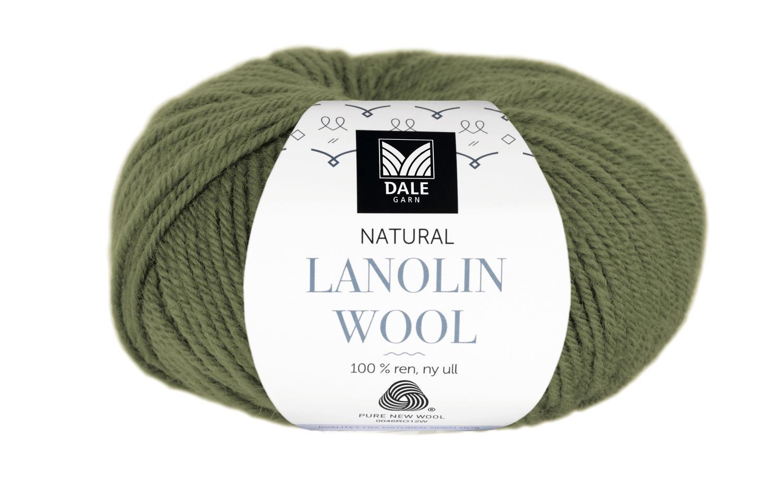 Lanolin Wool - Olivengrønn