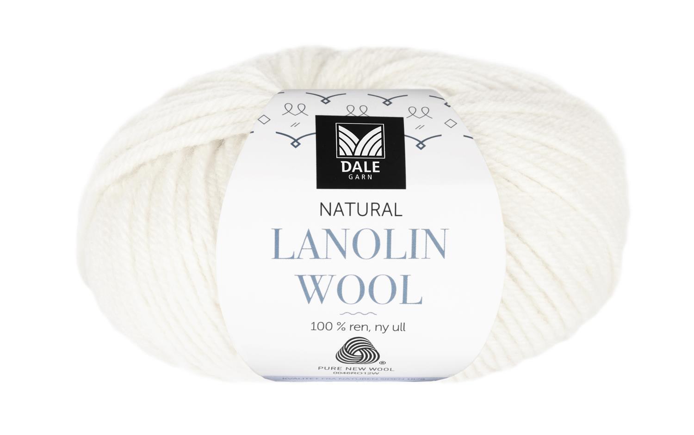 Lanolin Wool - Hvit