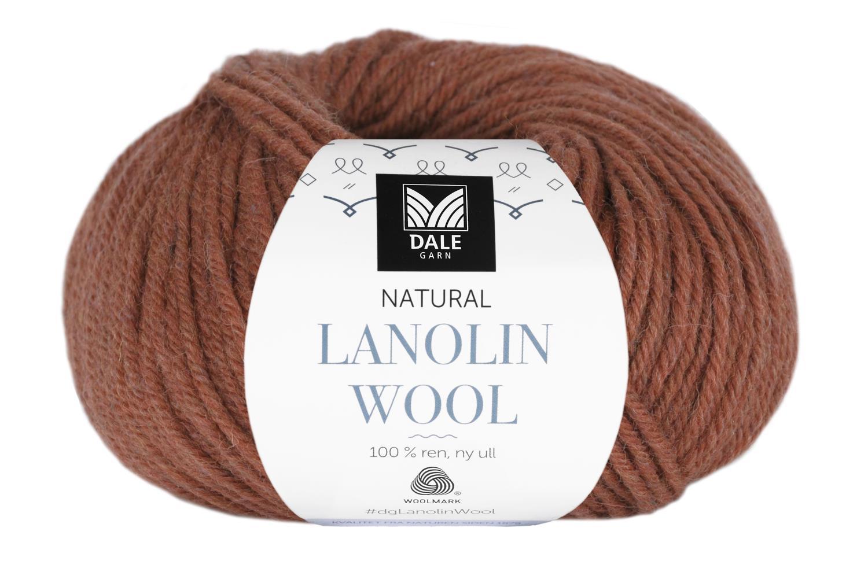 Lanolin Wool - Rust melert