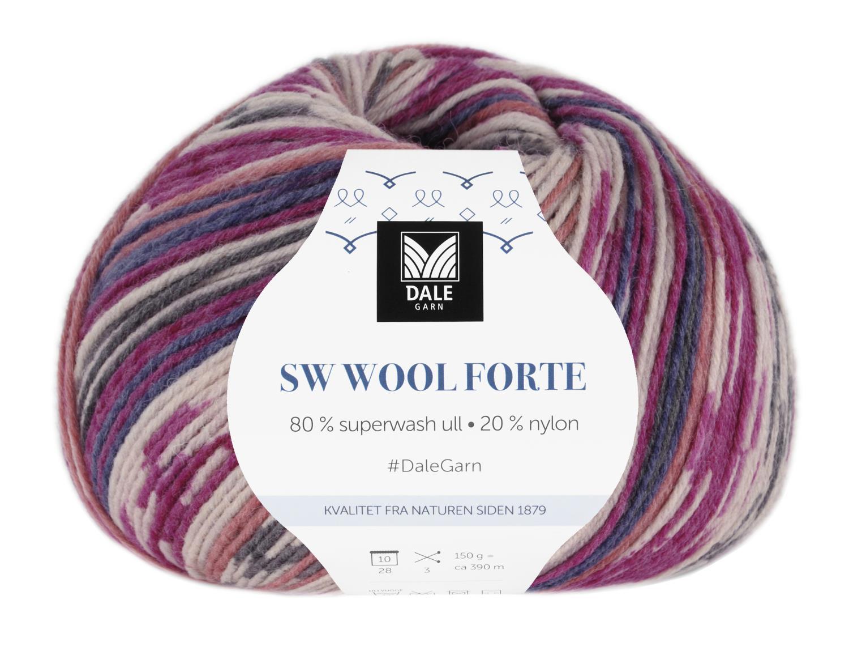 SW Wool Forte Cerise/Pink 150 gr