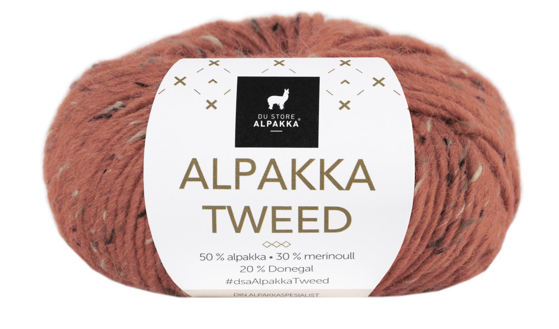 Alpakka Tweed - Rust