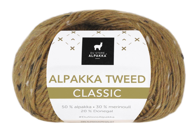 Alpakka Tweed Classic - Sennep