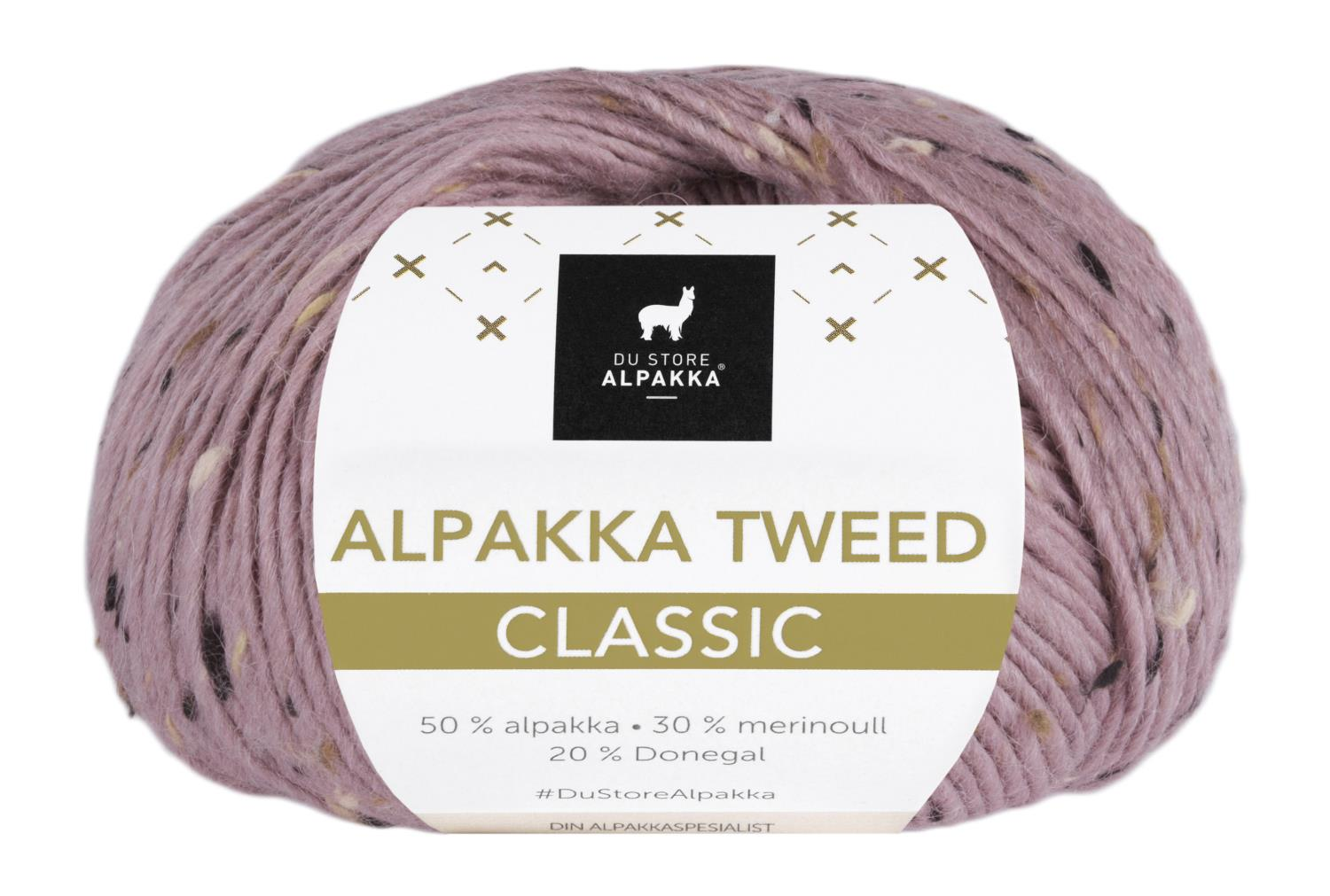Alpakka Tweed Classic - Rose