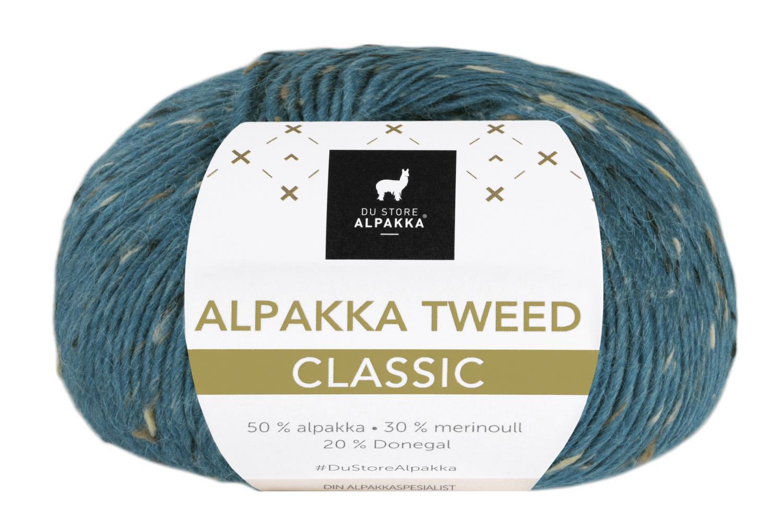 Alpakka Tweed Classic - Petrol