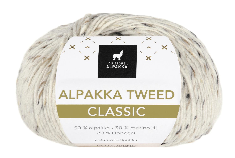 Alpakka Tweed Classic - Natur