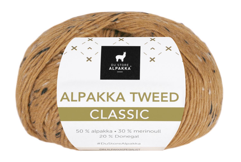Alpakka Tweed Classic - Maisgul