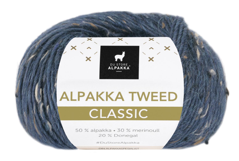 Alpakka Tweed Classic - Indigo