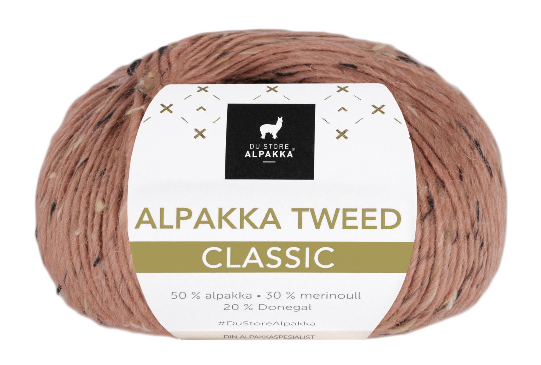 Alpakka Tweed Classic - Dus Aprikos