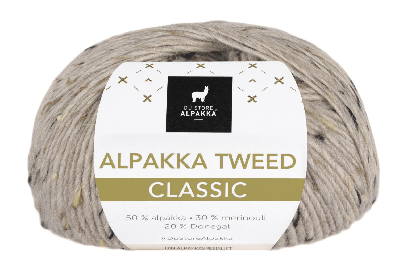 Alpakka Tweed Classic - Beige